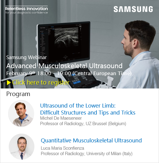 ADVANCED MUSCULOSKELETAL ULTRASOUND