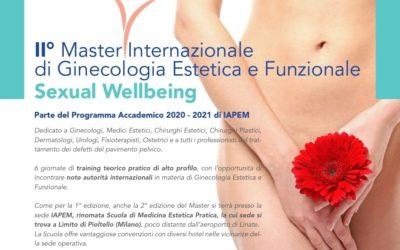 II° Master Internazionale di Ginecologia Estetica e Funzionale Sexual Wellbeing